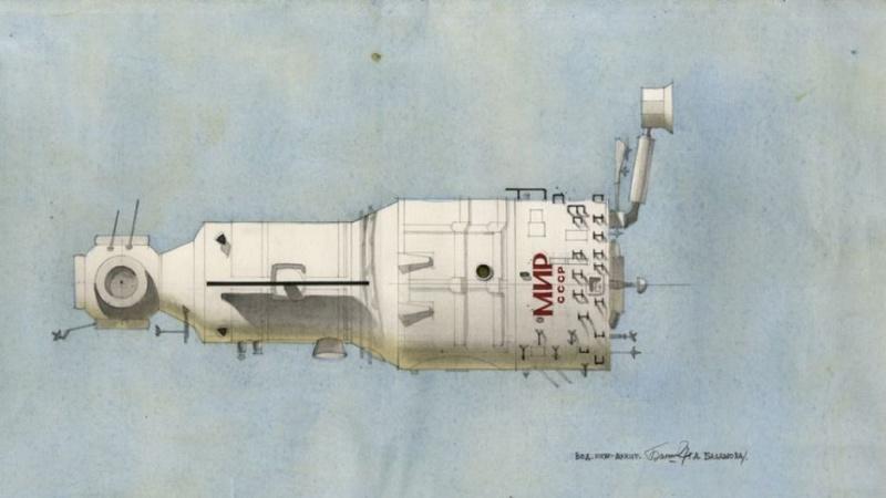Dessins de design russe Raumfa10