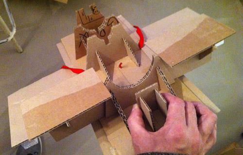 Maquette SOYOUZ première génération 7K-OK by Tezio Smsoys10