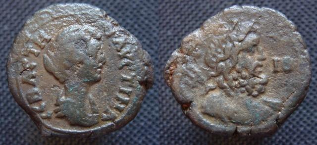 Faustine II d'Alexandrie - Tétradrachme ou Diobole ? Fausti10