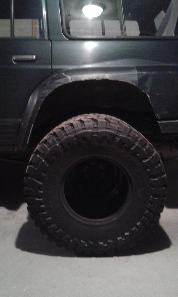 Vente Lot de pneus mud neufs Toyo1210