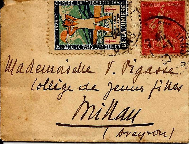 Plus petite lettre au monde ayant voyagée ?.... Scan0820
