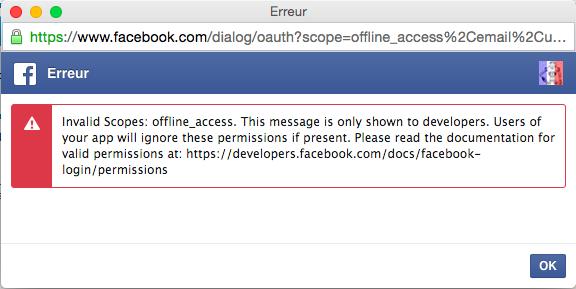 Facebook Connect: Message d'erreur quand on souhaite se connecter depuis la connexion rapide du bas du forum et sur la page de connexion Captur10