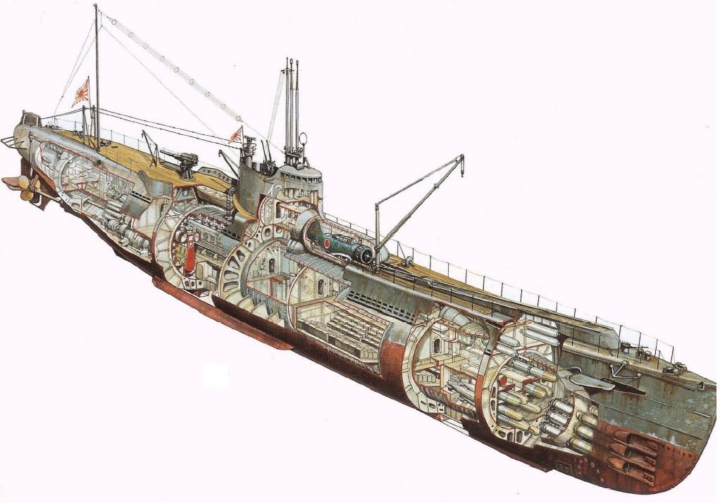 Quel est ce Sous marin Japonais de la WW II ??? Sous_m10
