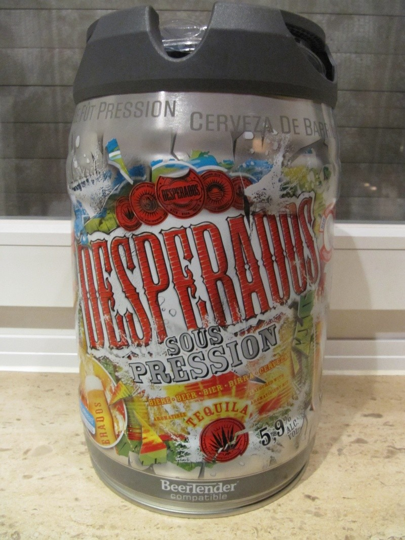 new DESPERADOS Beertender - FRANCE Gallon11