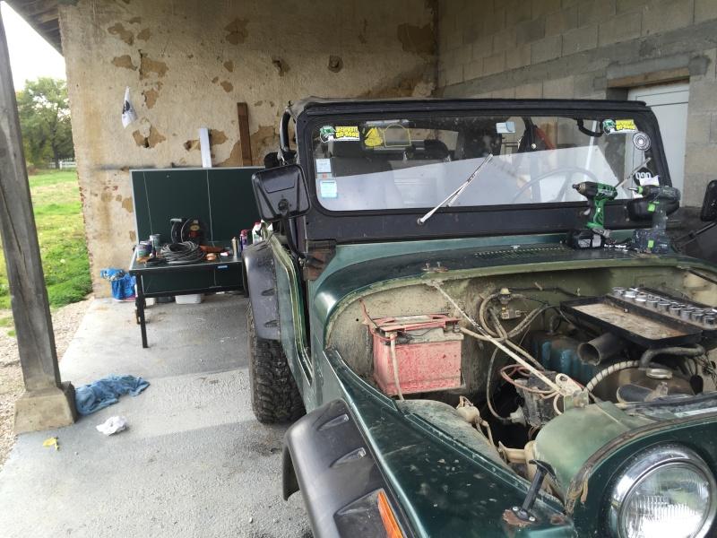Rénovation et préparation d'un CJ 6 3,8 litres de 1973 Image11