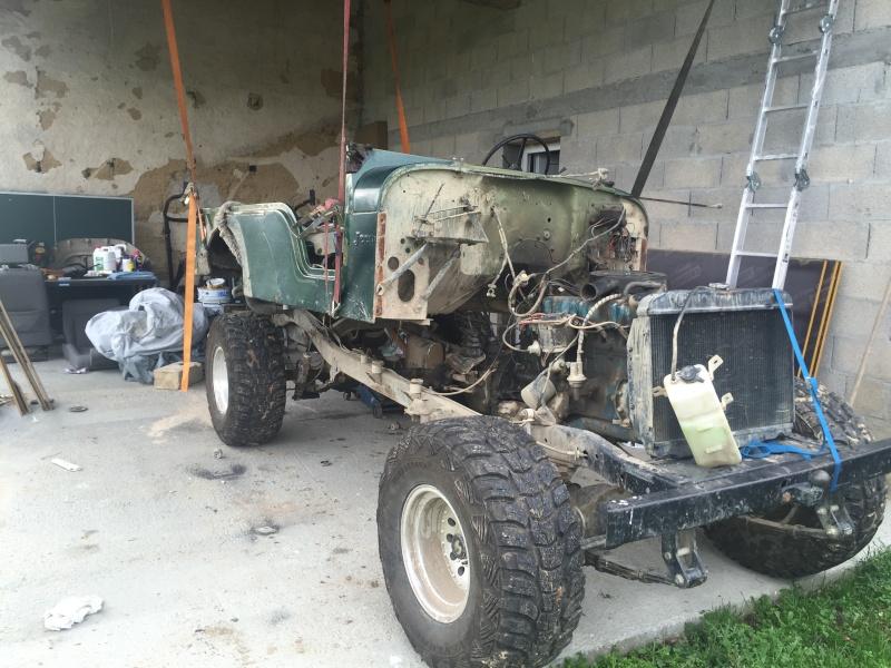 Rénovation et préparation d'un CJ 6 3,8 litres de 1973 Image13