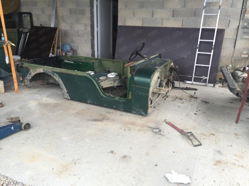 Rénovation et préparation d'un CJ 6 3,8 litres de 1973 Image15