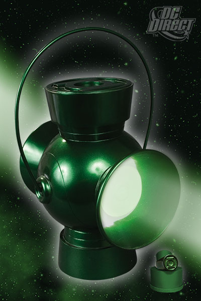 JLA TROPHY ROOM: GREEN LANTERN POWER BATTERY PROP REPLICA 10053_10