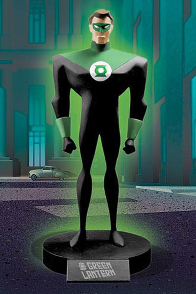 DC COMICS CLASSIC ANIMATION SERIES: SUPERMAN THE ANIMATED SERIES: GREEN LANTERN Maquette 3346_a10