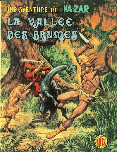 """#03 Une aventure de Ka-Zar """" La vallée des brumes"""" Uneave38"""