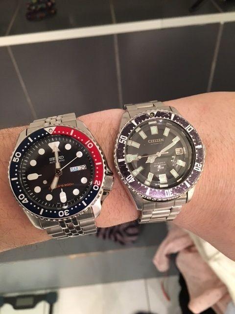 Citizen Diver 150 m 52-0110 Plonge10