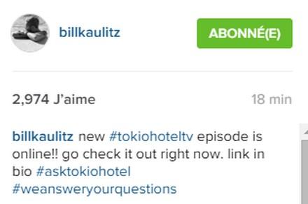 [Instagram Officiel] Instagram  Bill,Tom,Gus,Georg et TH 111