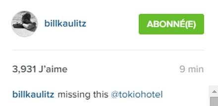 [Instagram Officiel] Instagram  Bill,Tom,Gus,Georg et TH - Page 4 Sans_219