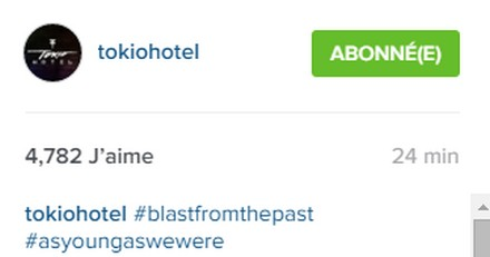 [Instagram Officiel] Instagram  Bill,Tom,Gus,Georg et TH - Page 4 Sans_225