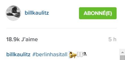 [Instagram Officiel] Instagram  Bill,Tom,Gus,Georg et TH - Page 4 Sans_237