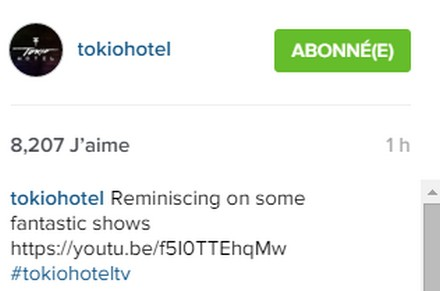 [Instagram Officiel] Instagram  Bill,Tom,Gus,Georg et TH Sans_t35