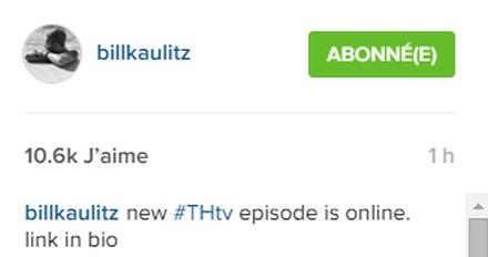 [Instagram Officiel] Instagram  Bill,Tom,Gus,Georg et TH Sans_t40