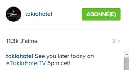 [Instagram Officiel] Instagram  Bill,Tom,Gus,Georg et TH Sans_t54
