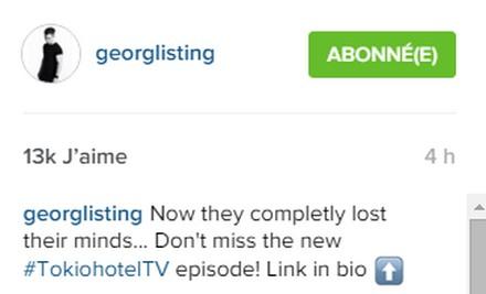 [Instagram Officiel] Instagram  Bill,Tom,Gus,Georg et TH Sans_t60