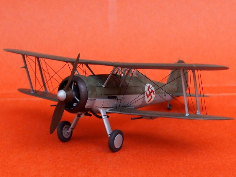 Gloster Gladiator letton (Airfix 1/72  et décals Aviation USK) Gladia16