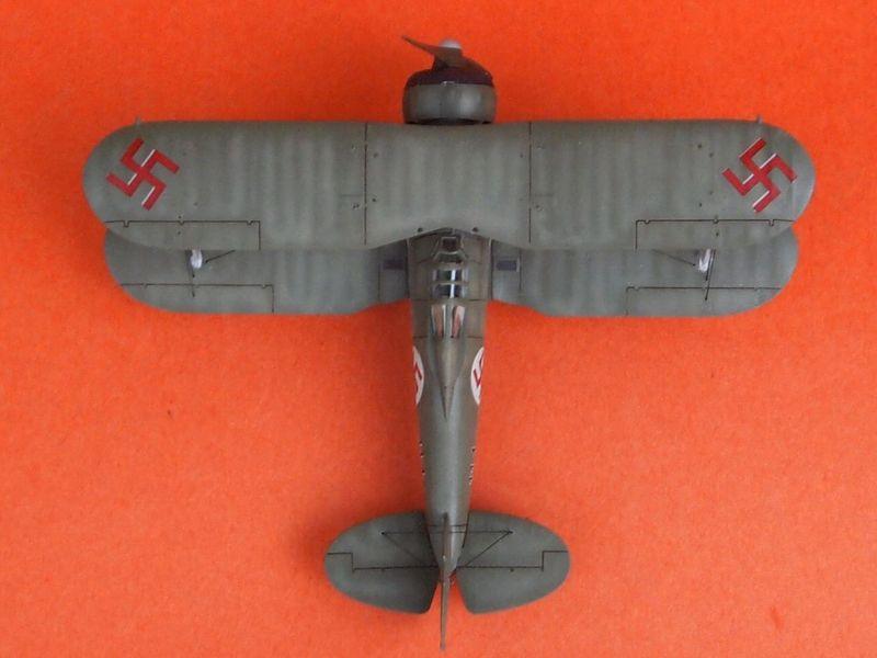 Gloster Gladiator letton (Airfix 1/72  et décals Aviation USK) Gladia18