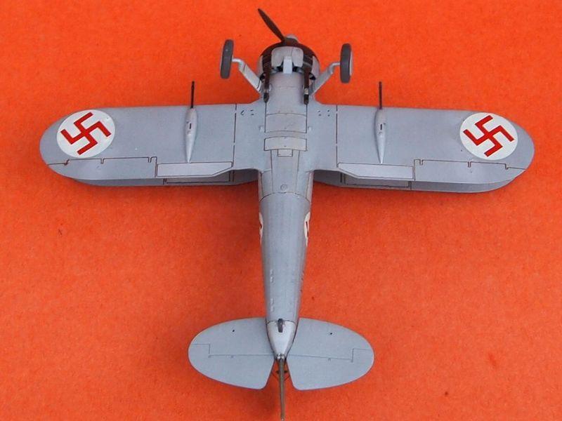 Gloster Gladiator letton (Airfix 1/72  et décals Aviation USK) Gladia21