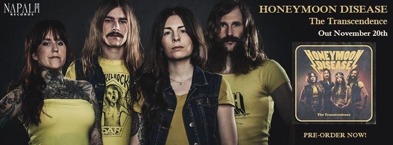 HONEYMOON DISEASE The Transcendence (2015) Hard-Rock Suède 12079510