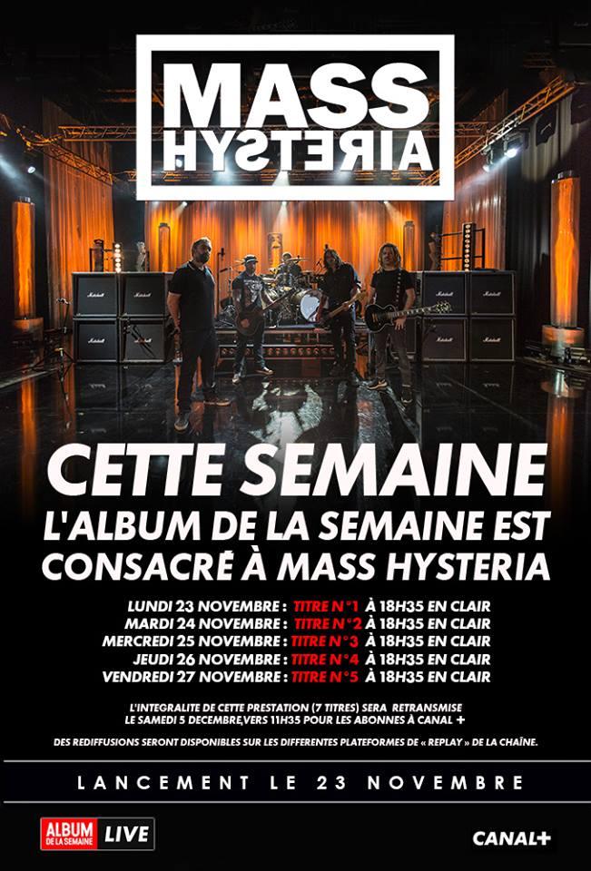 MASS HYSTERIA sur Canal+ toute cette semaine (dernier jour ce soir) Hardfo11