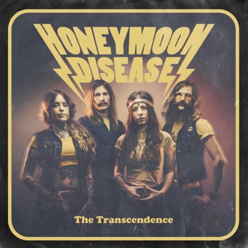 HONEYMOON DISEASE The Transcendence (2015) Hard-Rock Suède Honeym10