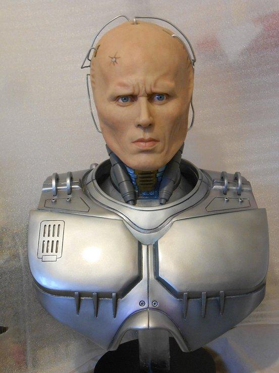 Robocop buste life size by J-P Reuchet  Robo610