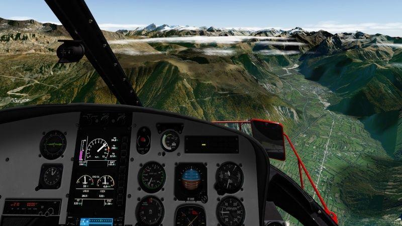 Vol du 23 Janvier AS 350 B3 sur l'Alpe d'Huez As350b35