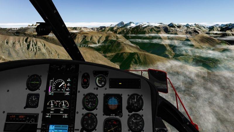 Vol du 23 Janvier AS 350 B3 sur l'Alpe d'Huez As350b36