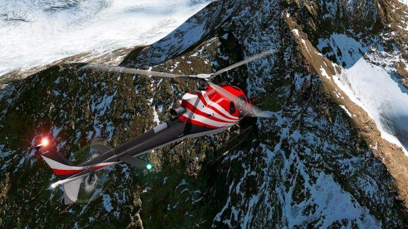 Vol du 23 Janvier AS 350 B3 sur l'Alpe d'Huez As350b37
