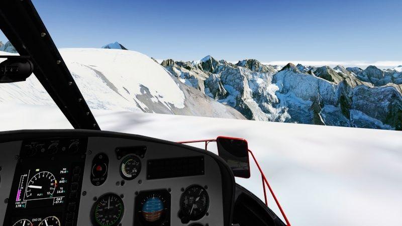 Vol du 23 Janvier AS 350 B3 sur l'Alpe d'Huez As350b38