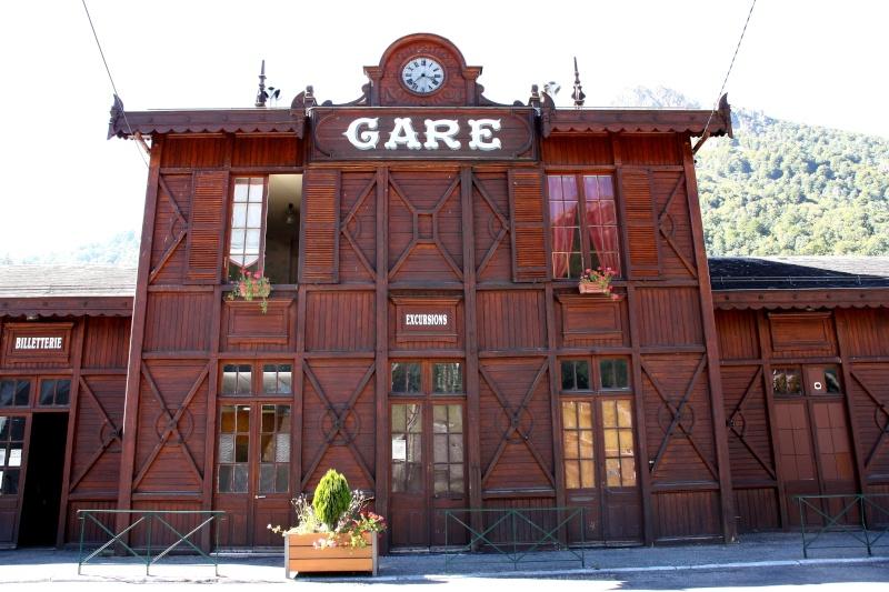 Gare de Cauterets  Hautes-Pyrénées FRANCE Img_3510