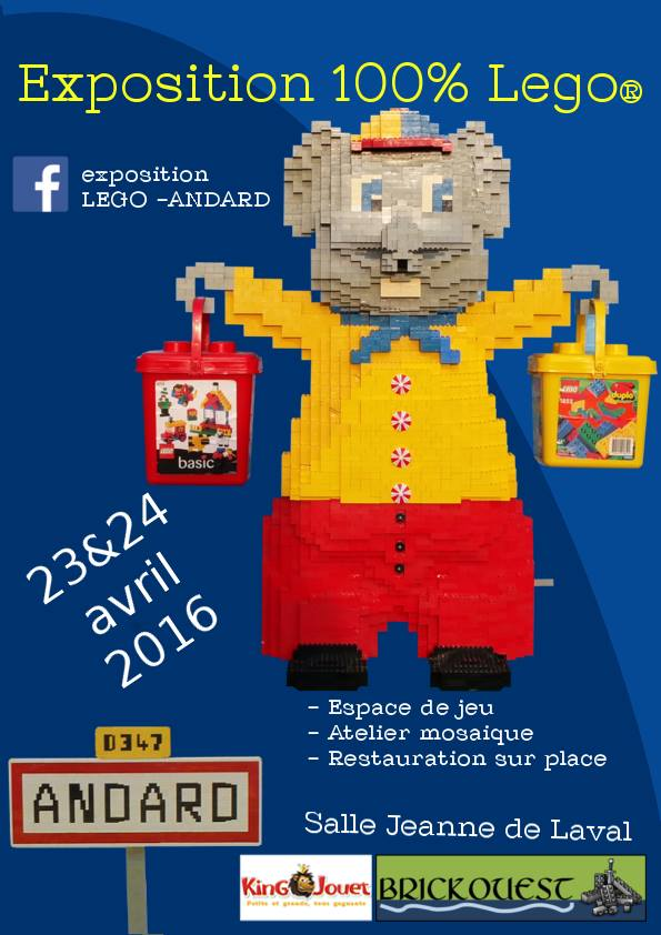 EXPOSITION 100% LEGO - ANDARD (49) - 23-24 AVRIL 2016 11260610