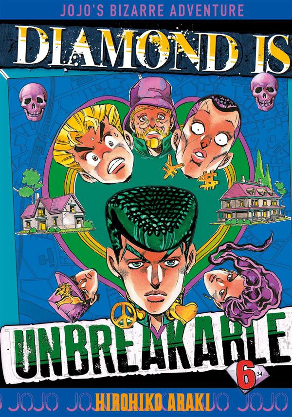 Diamond is Unbreakable (JBA part 4) - Hirohiko Araki Couv_210