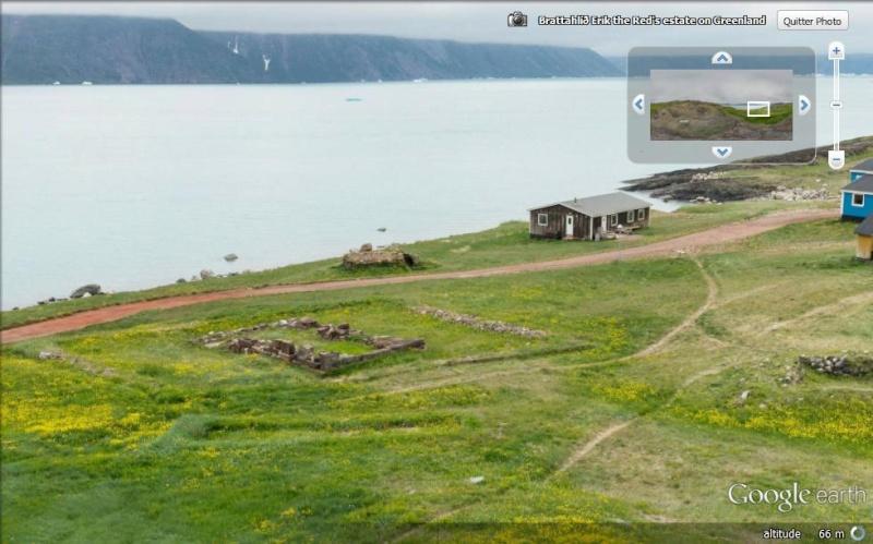 Traversée d'Qassiarsuk vers Narsarsuaq, Kujalleq au Groenland. Brad110