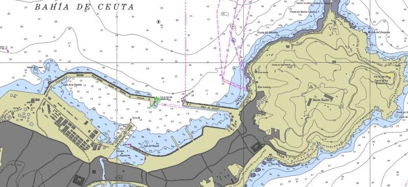 Cartes Marines - Nautical Maps - Cartas Nauticas - Page 4 Ceuta10