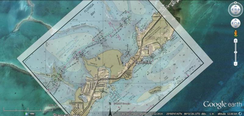 KMZ Nautical Charts - Cartes marines en Floride Chart110