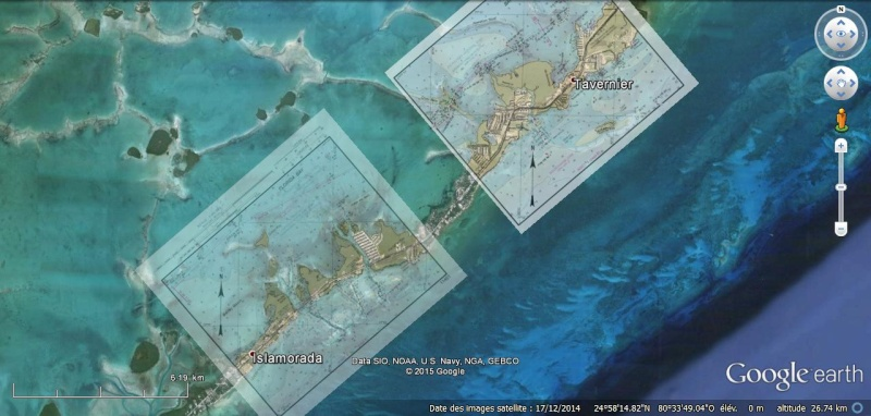 KMZ Nautical Charts - Cartes marines en Floride Chart210