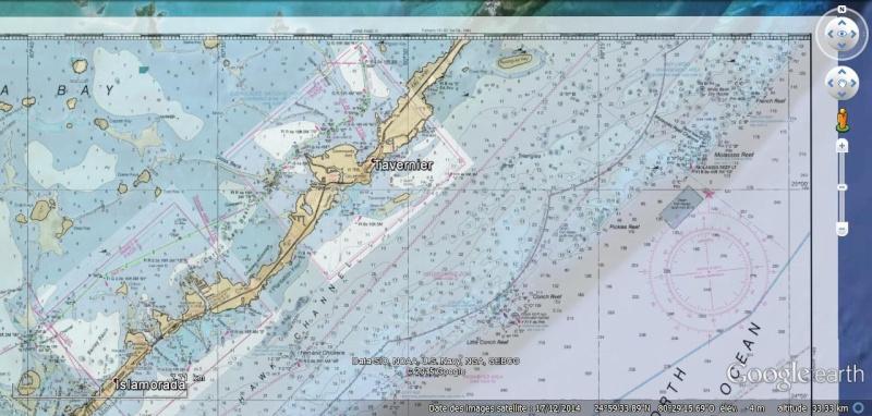 KMZ Nautical Charts - Cartes marines en Floride Chart310