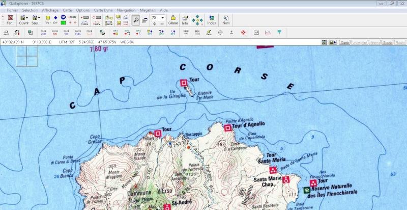 OziExplorer et ses liaisons cartographiques Ozi0710