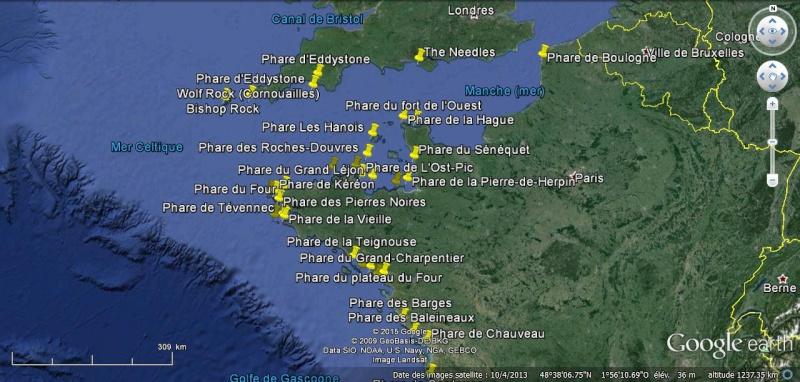 KML Les phares ISOLÉS en mer. Phares10