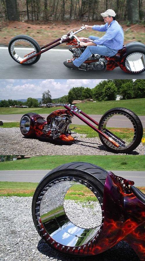 je savis pas ou mettre cette moto ! 710