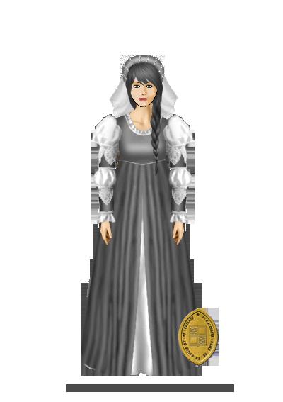Baptême d'Auréa du Perray (27 décembre 1458) Baptem11