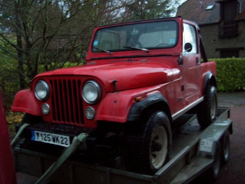 CJ 7 sur chassis mercedes et V8 mercos - Page 3 100_2410