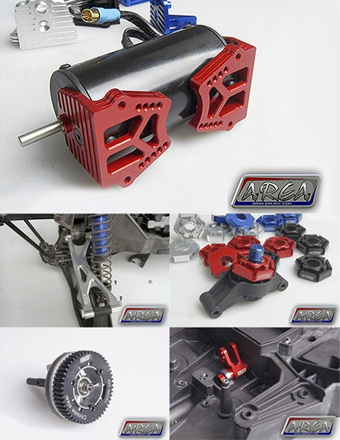 [NEW]Options/Aluminum Part Area RC pour X-Maxx Support moteur/Triangle/Palonnier/Couronne/Hexa Arerc_10