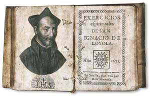 Médaille XVIIIe siècle. St Ignace de Loyola et  Saint Stanislas Kostka 11485310