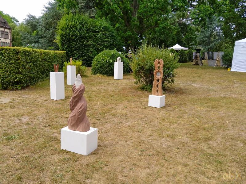 """Boersch ( 67 ) les 6 & 7 juillet 2019 , """" l' Art au Vert """" Art_au36"""